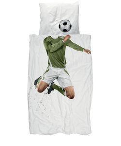 SNURK | Soccer Champ Printed Duvet Cover Set