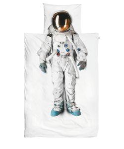 SNURK | Astronaut Cotton Duvet Cover Set