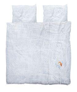 SNURK | Bassie Printed Cotton Duvet Cover Set