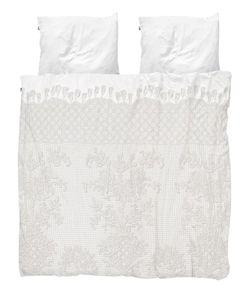 SNURK | Venice Lace Cotton Duvet Cover Set