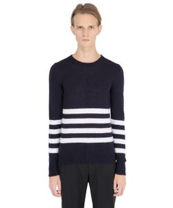Soho | Striped Mohair Blend Sweater