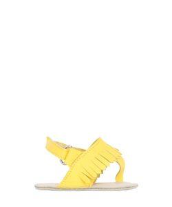 SONATINA | Fringed Nappa Sandals