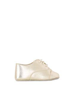 SONATINA | Laminated Nappa Leather Lace-Up Shoes