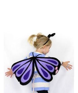SPARROW & B | Butterfly Wings Hair Band Costume Set