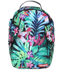 SPRAYGROUND | Floral Printed Backpack With Wings