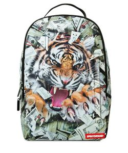 SPRAYGROUND | Tiger Money Printed Backpack