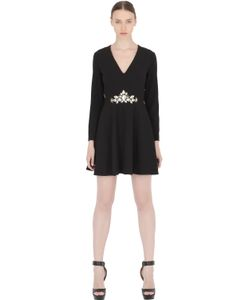 STEFANO DE LELLIS | Embellished Long Sleeve Dress