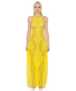Stella Mccartney | Embroidered Tulle Organza Dress