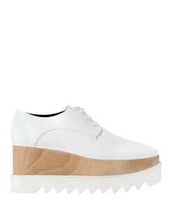 Stella Mccartney | 75mm Elyse Faux Leather Wedges