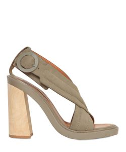 Stella Mccartney | 125mm Crossed Faux Leather Sandals