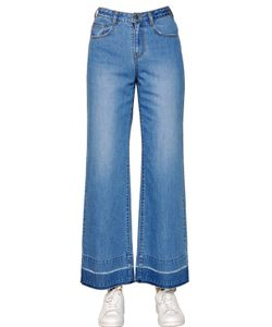 Steve J & Yoni P   Wide Washed Cotton Denim Jeans