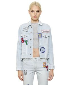 Steve J & Yoni P   Patches Cotton Denim Jacket