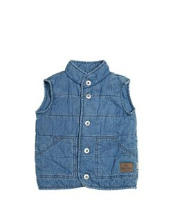 STICKY-FUDGE   Organic Cotton Chambray Vest