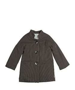 STICKY-FUDGE | Woven Organic Cotton Quilted Coat
