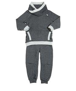 STICKY-FUDGE | Organic Cotton Sweatshirt Pants
