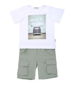 STICKY-FUDGE | Organic Cotton T-Shirt Shorts