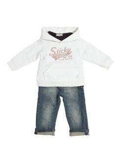 STICKY-FUDGE | Cotton Sweatshirt T-Shirt Jeans