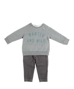 STICKY-FUDGE   Organic Cotton Sweatshirtpants T-Shirt