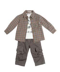 STICKY-FUDGE | Organic Cotton Shirt Pants T-Shirt