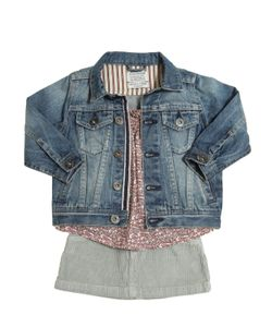 STICKY-FUDGE   Organic Cotton Jacket Top Skirt