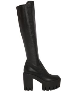 Strategia | 100mm Leather Boots