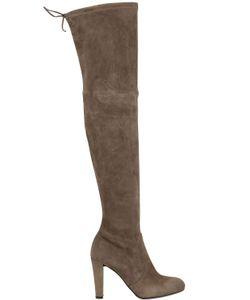 Stuart Weitzman | 90mm Highland Stretch Suede Boots