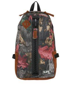 SUPE DESIGN | Camouflage Day Nylon Bag W/ Zip