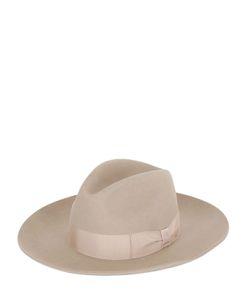SUPERDUPER | Wide Brim Lapin Fur Felt Hat