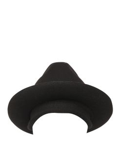 SUPERDUPER | Wool Felt Fedora Hat Knit Beanie