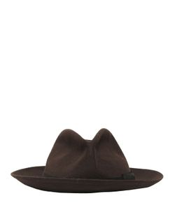 SUPERDUPER   Lapin Felt Brimmed Hobo Hat