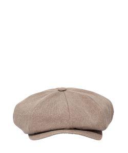 SUPERDUPER   Linen Canvas Flat Cap