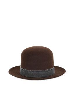 SUPERDUPER   Hurricane Lapin Fur Felt Hat