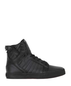 Supra | Skytop Leather High Top Sneakers