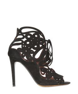 Tabitha Simmons | 100mm Nina Suede Cage Sandals