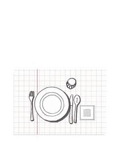TABLECLOTHS | Intelligenza Set Of 2 Printed Placemats