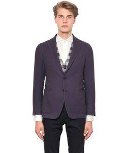 Tagliatore | Textured Cotton Blend Jacket