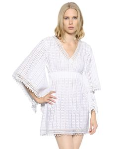 TALITHA | Cotton Crocheted Lace Dress