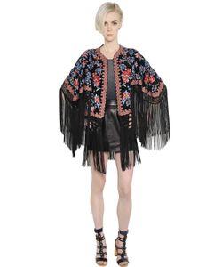 TALITHA | Floral Embroidered Silk Georgette Jacket