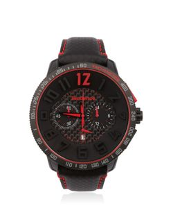 TENDENCE | Carbon Fiber Chr Black Red Watch