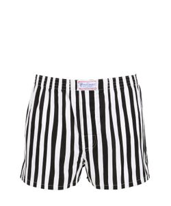 THE HONOURABLE SHIRT COMPANY | Stripe Printed Cotton Boxers