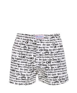 THE HONOURABLE SHIRT COMPANY | Dr. Seuss Words Printed Cotton Boxers