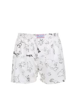 THE HONOURABLE SHIRT COMPANY | Dr. Seuss Drawings Printed Cotton Boxers