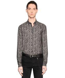 The Kooples | Ivy Print Light Cotton Flannel Shirt