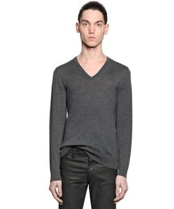 The Kooples | Fine Wool Knit V Neck Sweater