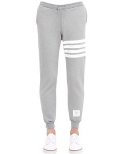 Thom Browne | Stripes Printed Cotton Jogging Pants