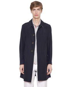 Thom Browne | Cotton Blend Poplin Overcoat
