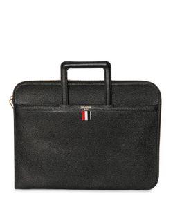 Thom Browne | Pebbled Leather Slim Briefcase