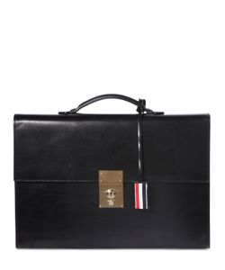 Thom Browne | Brushed Leather Briefcase