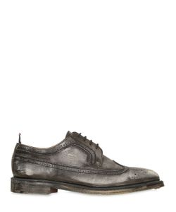 Thom Browne | Sanded Leather Brogue Derby Shoes