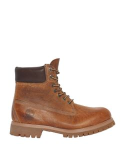 Timberland   Heritage 6-Inch Washed Leather Boots
